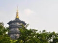 Scenery of Leifeng Pagoda in Hangzhou