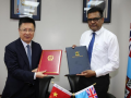 China, Fiji ink MoU on Belt and Road Initiative cooperation