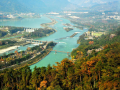 Golden autumn in Dujiangyan